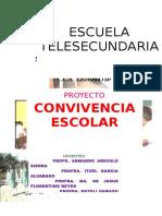 PROYECTO CONVIVENCIA ESCOLAR