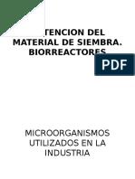 6.-Obtencion Del Material de Siembra, Biorreactores