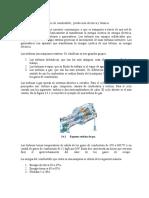 3.4  Capacidades, consumo de combustible,  producción eléctrica y térmica.