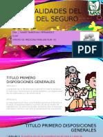 Generalidades Del La Ley Del Seguro Social