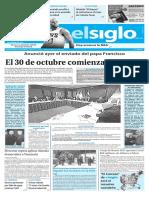 Edición Impresa El Siglo 25-10-2016