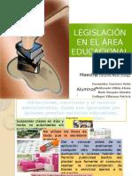 Legislacion en El Area Educacional
