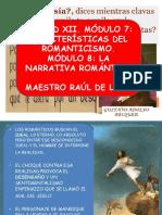 Unidad Xii Módulo 7-8características Del Romanticismo Siglo Xviii