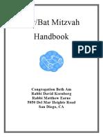 Bnai Mitzvah Handbook