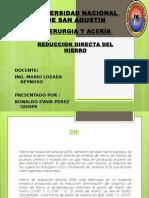 Laboratorio Sider Reduccion Del Hierro