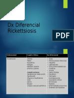 Dx Diferencial Rickettsia