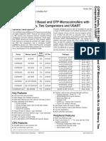 COP8SGG540N6 datasheet