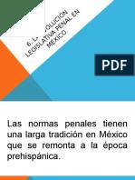 Derecho Penal –Evolución en México–