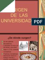 Historia de Las Universidades