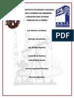 Resumen. Hidratos de metano  (CH4)