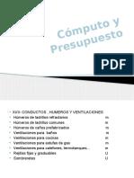 Computo y Presupuesto 2015-2