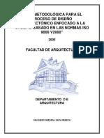 00-Guia Metodologica Para El Proceso de Diseno Arquitectonico Enfocado a La Calidad Basado en Las Normas Iso 9000