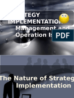 Chapter 7-Dealing With Management and Operation Issues (Strategy Implementation)