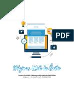 Información general de páginas web