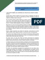 2. Caso de Estudio, Sistemas de Informacion en Tarjetas de Credito