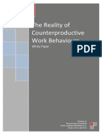 14 12 10 Counterproductive Work Behaviours White Paper Christine Yu