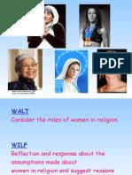 Role of Women in Religion