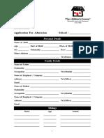 TCHApplication Form 0112