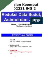 04 Reduksi Data Sudut, Azimuth, Jarak