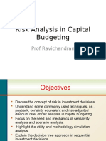 01. Risk Analysis in Capital Budgeting