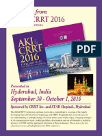 AKI CRRT HIghlights Program Details
