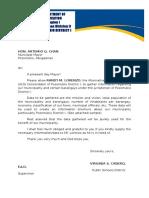 Letter Request ALS