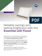 Philips Essential Flood Data Sheet