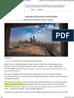 Saudi Arabia's $17B bond