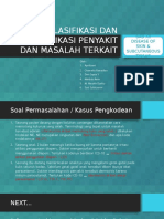 Klasifikasi Dan Kodefikasi Penyakit Dan Masalah Terkait
