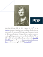 Anne Carroll Moore