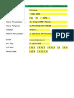 Laporan Nihil SPT Psl 21 & SSP Psl 25 Masa April 2016 OMT