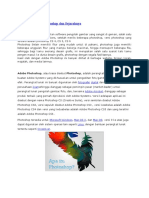 Pengertian Adobe Photoshop Dan Sejarahnya