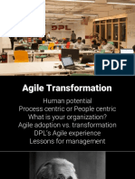 Agile Transformation by Syed Ahmad