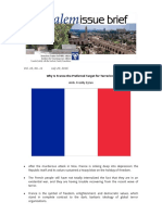 Why is France the Preferred Target for Terrorists?