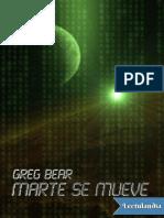 Marte Se Mueve - Greg Bear