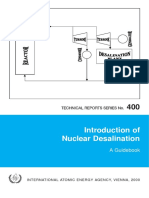 Introduction of Nuclear Desalination Guidebook
