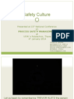 Process Safety Culture
