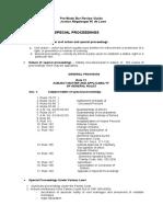 Special Proceedings