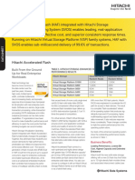 HDS Accelerated Flash (HAF) Drive Datasheet