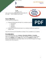 SPSS Bivariate Statistics Spring 2010-2