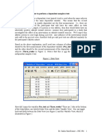 How to Perform a Dependent t Test in SPSS