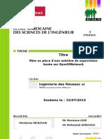 Rapport Mouhsine MERZOUK