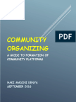 Haki Madini Kenya Community Guide to Formation of Communty Platforms