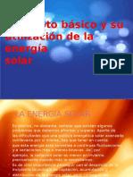 Concepto Básico y Su Utilización de La Energia