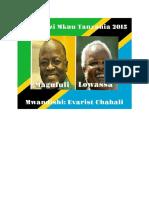 Uchaguzi Mkuu Tanzania 2015 Magufuli vs Lowassa