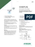 Regin CO2DT Duct Mount CO2 Sensor