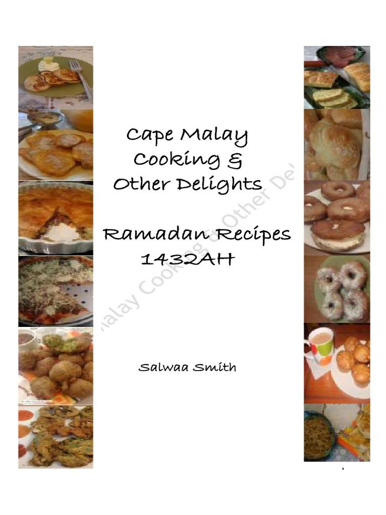 Cape Malay Cookbook Pdf