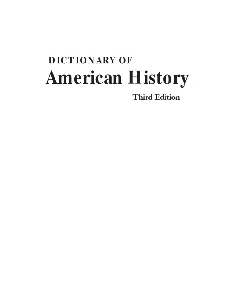 Dictionary of american history 3rd vol 07pdf quakers seminole fandeluxe Gallery