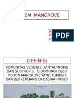 Ekosistem Mangrove 2016