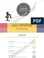 Sales Reporting PowerPoint Presentation PPT Sample